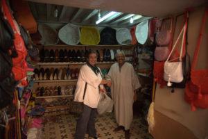 Viajeros en Marrakech