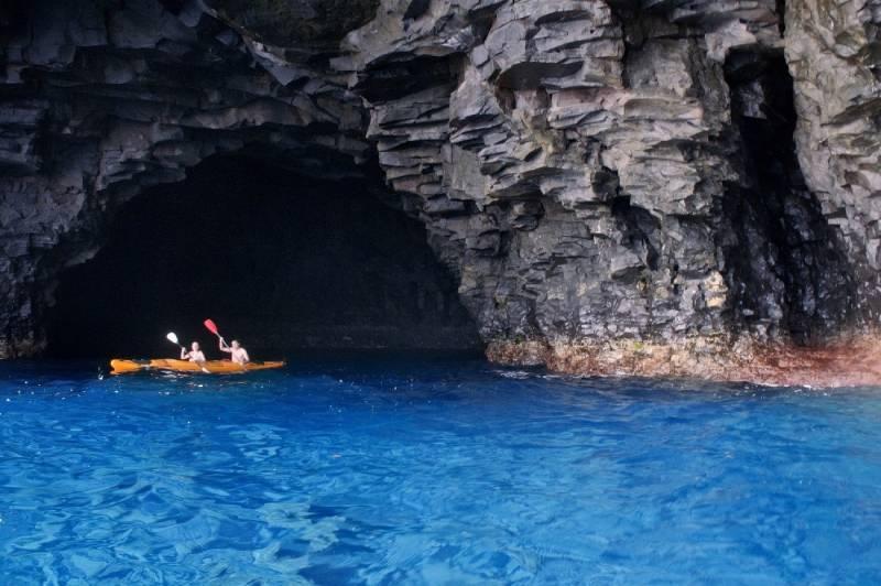 Cueva bonita Tijarafe en La Palma