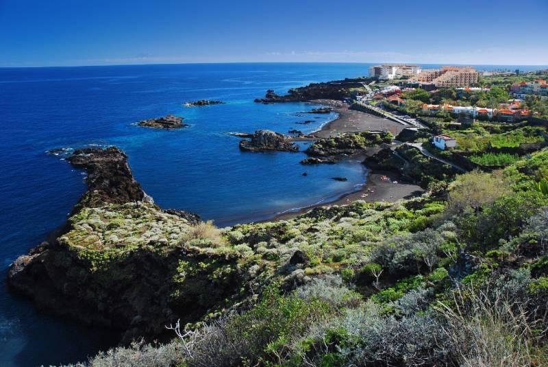 Playa Cancajos isla de La Palma