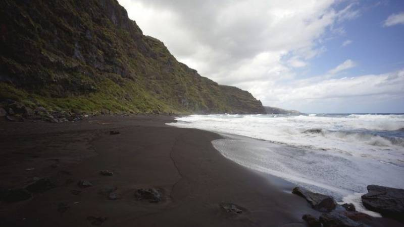 Playa Nogales isla de La Palma
