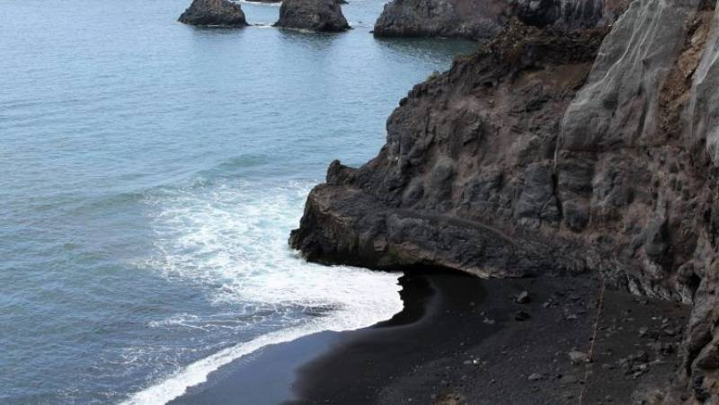 Playa Zamora en La Palma