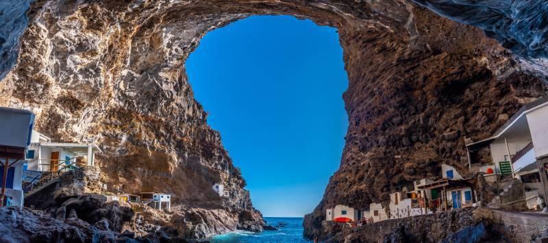 Porís de la Candelaria en La Palma